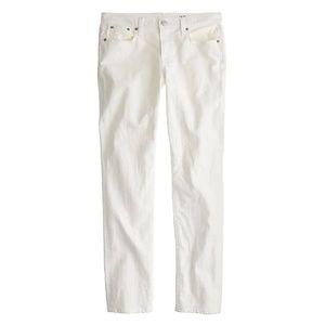 J.Crew Slim broken-in boyfriend jean in white